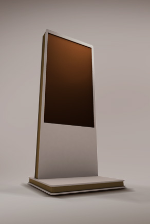 Totem_Digital_Signage_Orange-Artcom