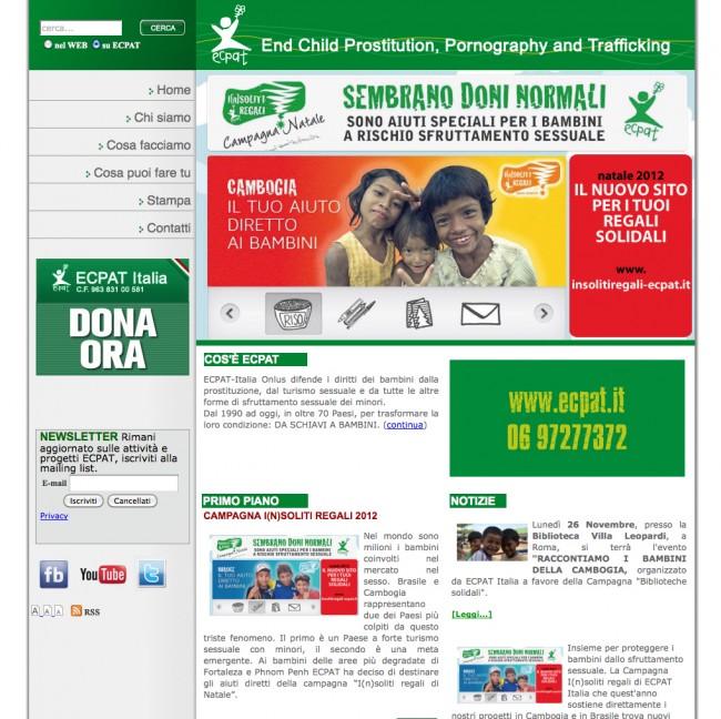 Sito Web ECPAT