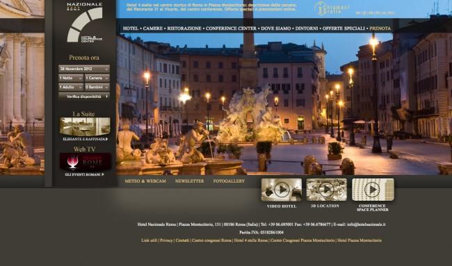 Sito Web Hotel Nazionale