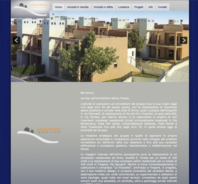 Sito Web Immobiliare Santa Teresa