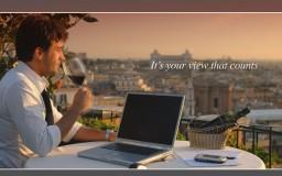 Advertising for Intercontinental De La Ville Rome